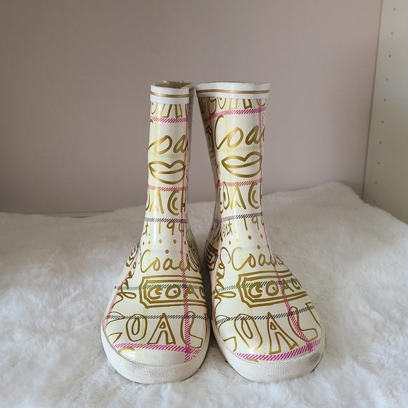 Coach Ursula rain boots